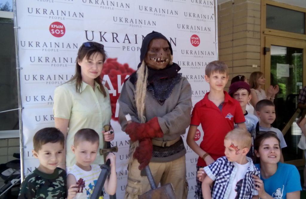 Благотворительный праздник для детей-переселенцев «Детские мечты»