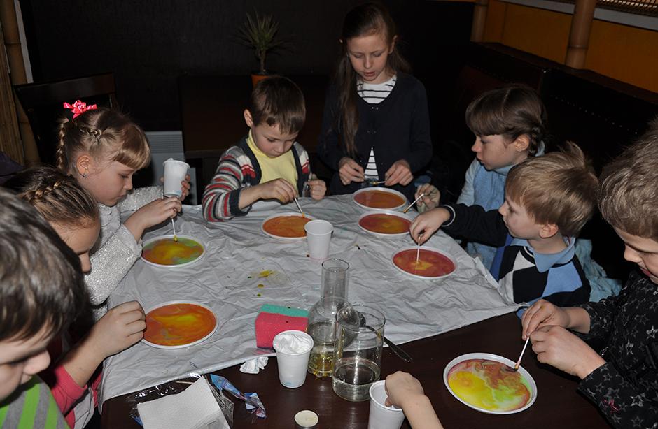 День рождения Тимофея в Детской академии Мамсика