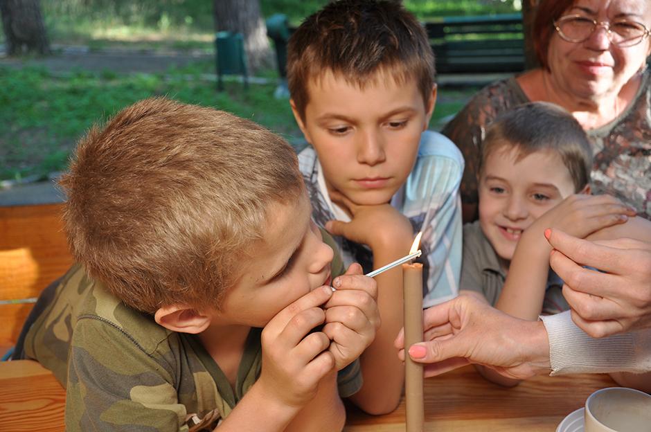 Летние выездные заседания юных академиков